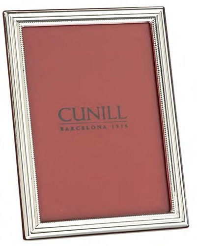 Cunill Classic 4 x 6 Inch Picture Frame - Sterling Silver
