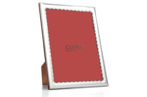 Cunill Drifts 5 x 7 Inch Picture Frame                                        - Sterling Silver