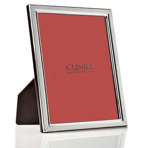 Cunill Droplets 5 x 7 Inch Picture Frame - Sterling Silver