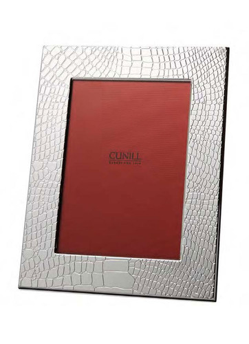 Cunill Dundee 6 x 8 Inch Picture Frame - Silverplated