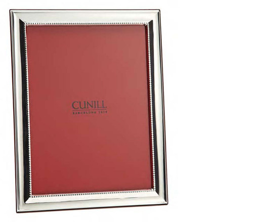 Cunill Groove 5 x 7 Inch Picture Frame - Sterling Silver