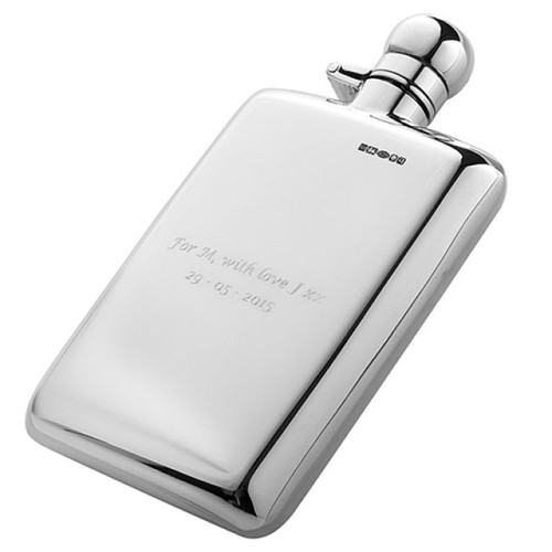 Cunill Hip Flask - Sterling Silver
