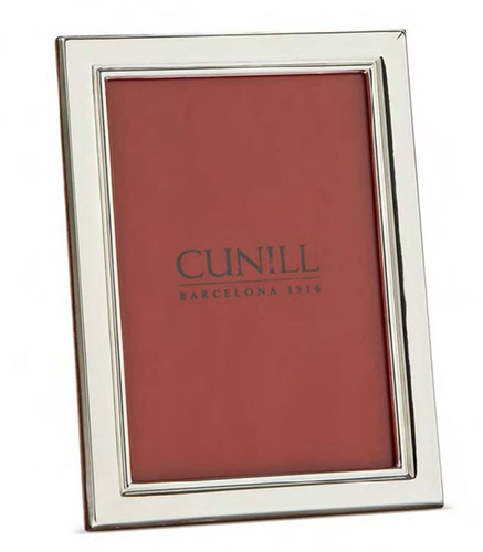 Cunill Metropolis 4 x 6 Inch Picture Frame - Sterling Silver