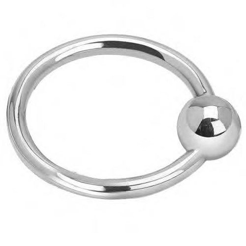 Cunill Single Ring Ball Rattle - Sterling Silver