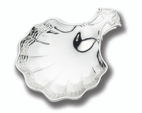 Cunill Waves Baptismal Shell - Sterling Silver
