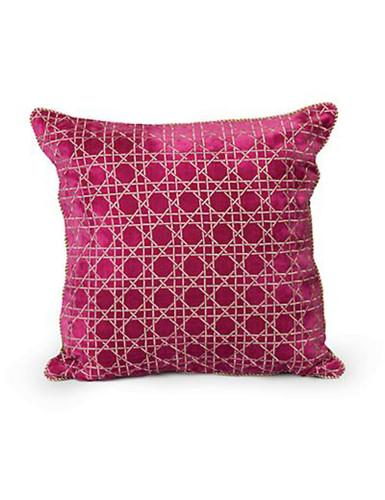 Jay Strongwater Flora Trellis Pillow