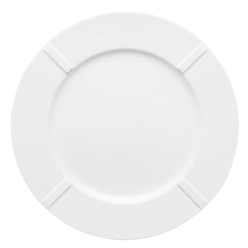 Kosta Boda Bruk Plate Bone China White