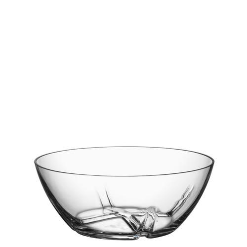Kosta Boda Bruk Serving Bowl Clear Medium