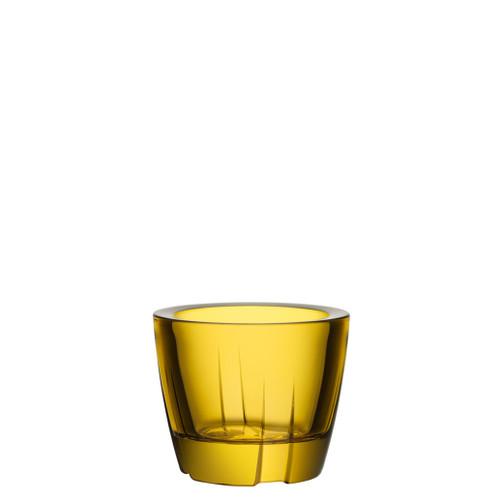 Kosta Boda Bruk Votive Anything Bowl Bright Yellow MPN: 7061606 EAN: 7321646023233