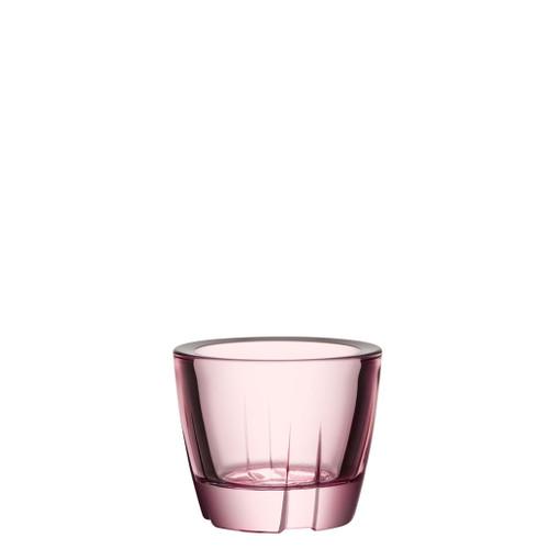 Kosta Boda Bruk Votive Anything Bowl Light Pink