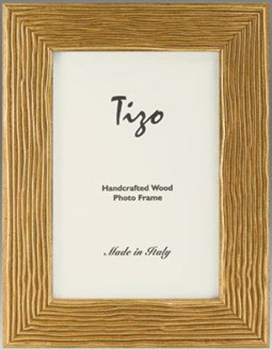 Tizo Gold Mine Wood Picture Frame 8 x 10 Inch - HomeBello