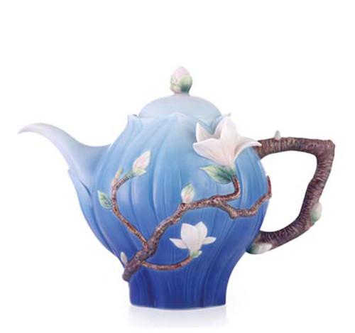 Franz Porcelain Teapot Magnolia FZ03465