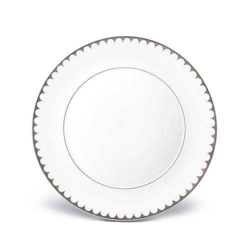L'Objet Aegean Filet Dinner Plate Platinum