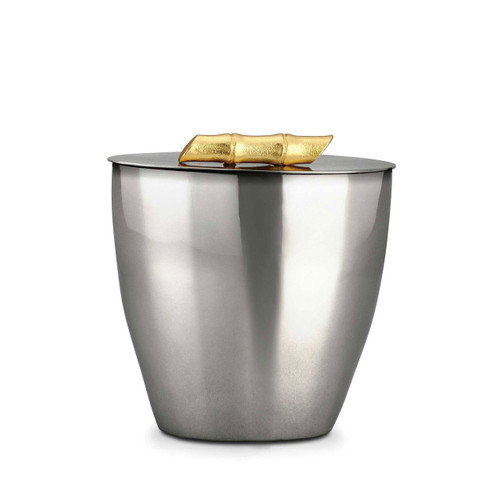 L'Objet Bambou Ice Bucket 24k Gold-Plated Stainless Steel