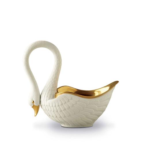 L'Objet Swan White Bowl Medium
