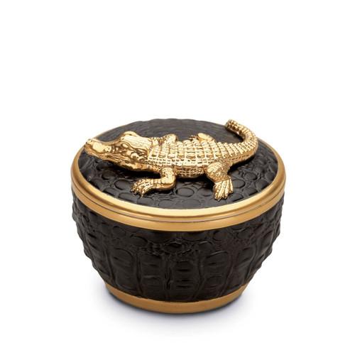 L'Objet Crocodile Gold Candle
