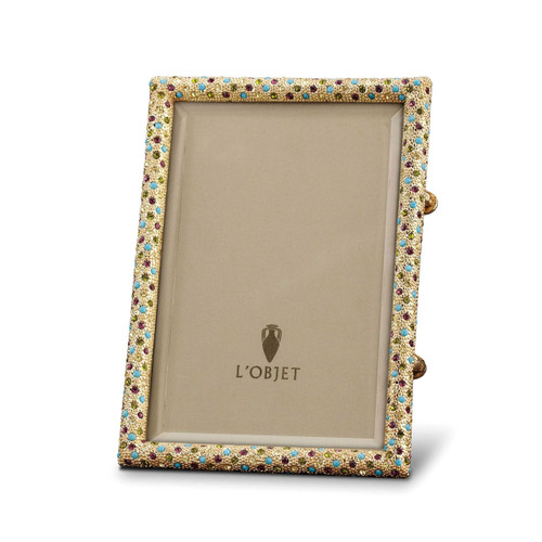 L\'Objet Rectangular Pave Picture Frames 5 X 7 Inch Picture Frame ...