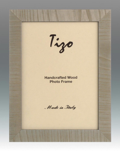 Tizo Lines 5 x 7 Inch Wood Picture Frame - Mint