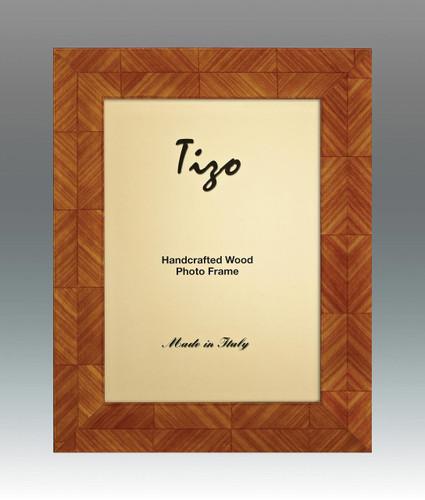 Tizo Lozenge 8 x 10 Inch Wood Picture Frame - Light Brown