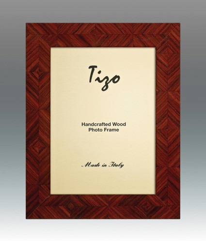 Tizo Lozenge 5 x 7 Inch Wood Picture Frame - Brown