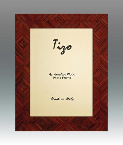 Tizo Lozenge 8 x 10 Inch Wood Picture Frame - Brown