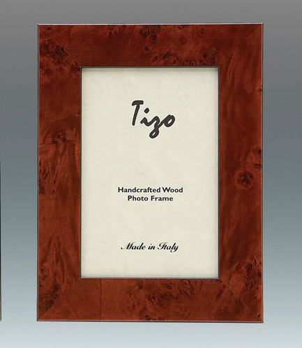 Tizo Ocean 5 x 7 Inch Wood Picture Frame - Brown