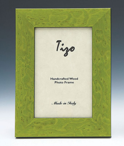 Tizo Ocean 4 x 6 Inch Wood Picture Frame - Green