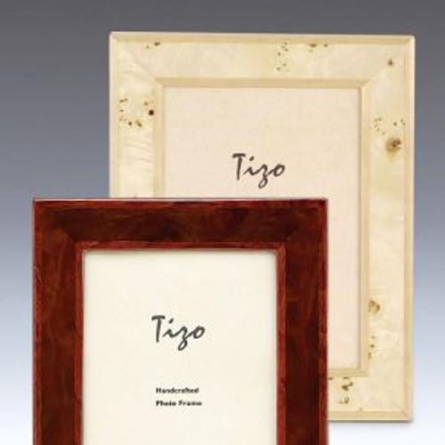 Tizo Cream 5 x 7 Inch Wood Picture Frame
