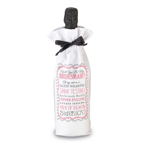 Bridesmaid Sidekick Wine Bag GM13622