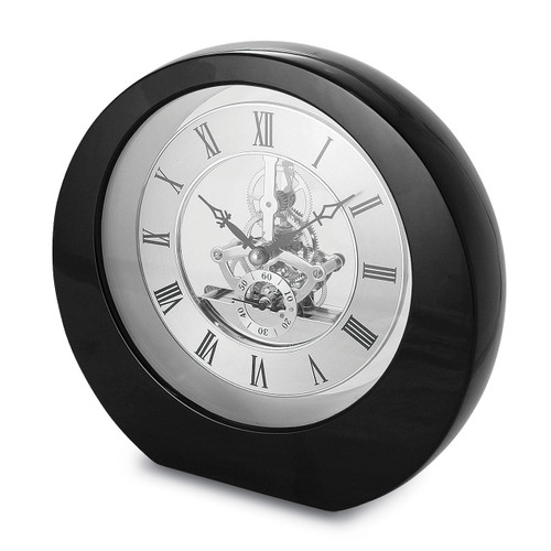 Black Interactive Gear Desktop Clock GM13683