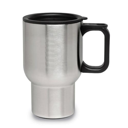 Engravable 16 oz Travel Mug Stainless Steel GM13851