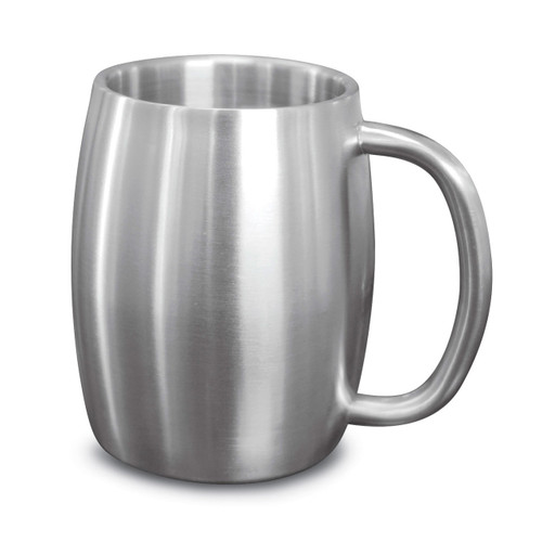 Brussels Stainless Steel Double Walled Mug GM14955