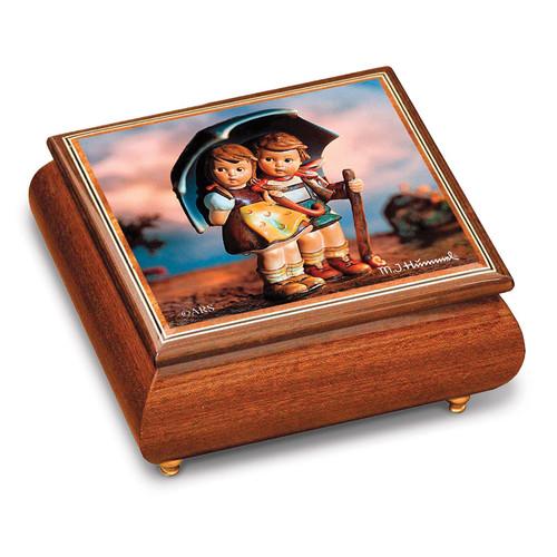 Artist Hummel Stormy Weather Music Box GM15106