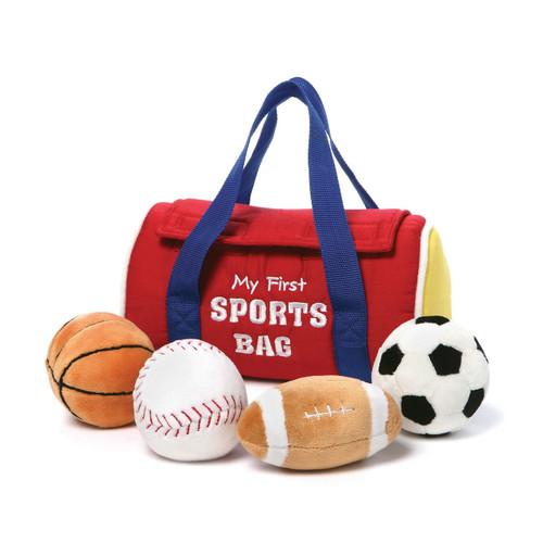 Baby Gund My 1st Sportsbag Plush Playset GM15309