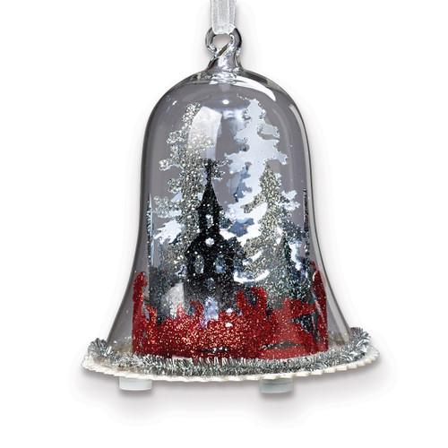 LED Winter Scene Dome Ornament GM15772