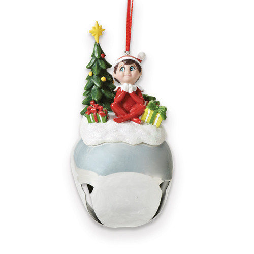 Jingle Buddies Elf with Tree Ornament GM15786