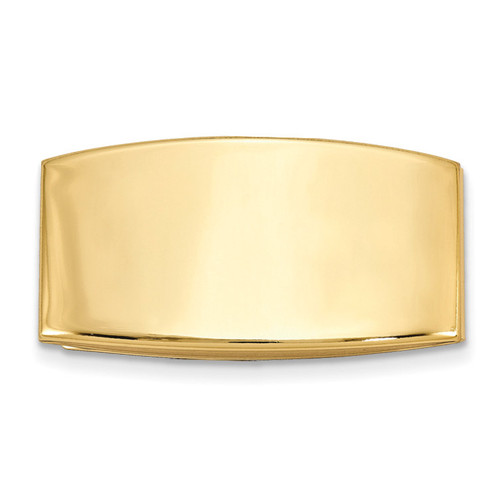 Domed Money Clip Gold-tone GM16799