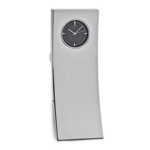Rectangle Desk Clock Silver-tone GM16874