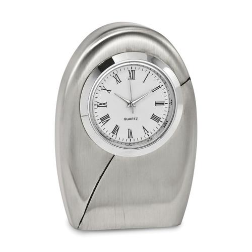 Desk Clock Silver-tone GM16886