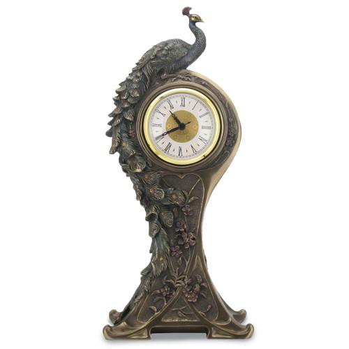 Art Nouveau Peacock Clock GM17142