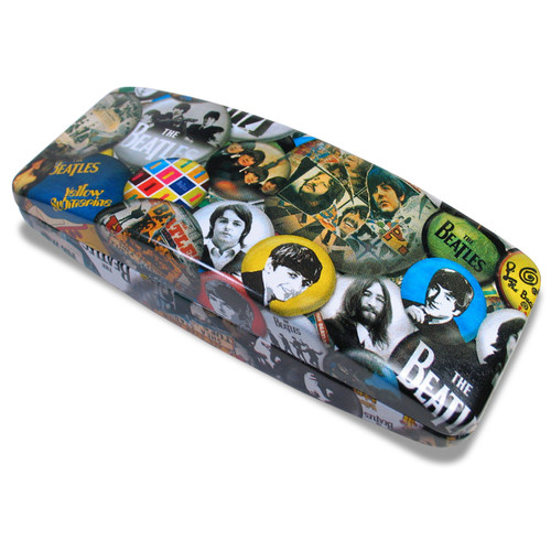 Acme Buttons Beatles Eyeglass Case