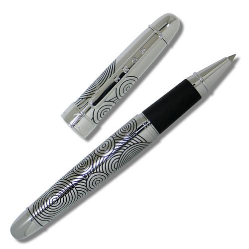 Acme Circles Etched Ballpoint Pen