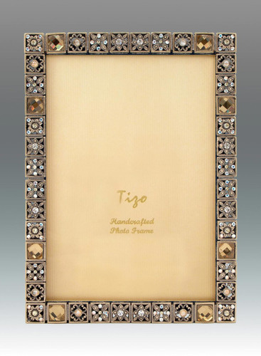 Tizo Busy Jewels 5 x 7 Inch Jeweltone Picture Frame