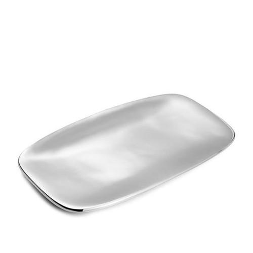 Nambe Marupa Platter - 18 Inch 18 Inch L x 9.5 Inch W Alloy
