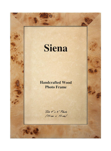 Tizo 5 x 7 Inch Clouds Up Wood Picture Frame - Tan