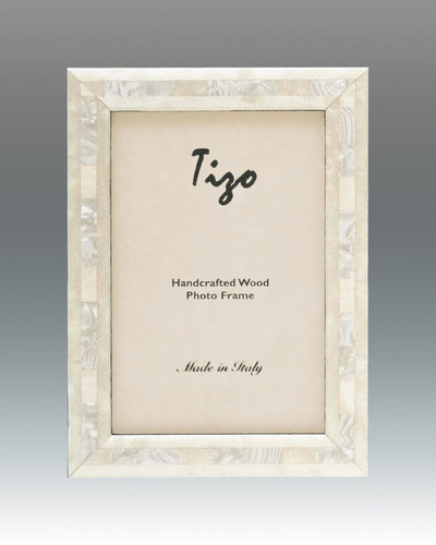 Tizo 4 x 6 Inch Occean Pearls Wood Picture Frame