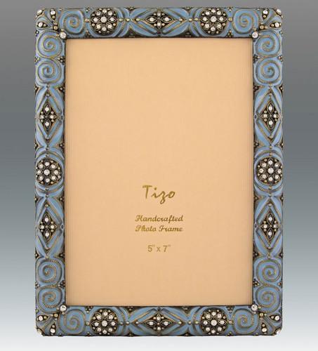 Tizo 5 x 7 Inch Duke Jeweltone Picture Frame