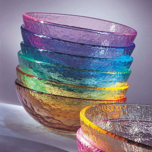 Fire and Light Small Bowl 6 Inch