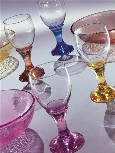 Fire and Light Wine Water Goblet 12 oz.