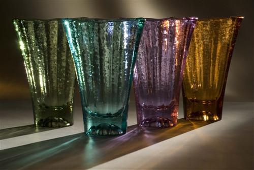 Fire and Light Aurora Vase 9 1/2 Inch
